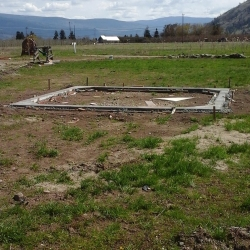 April 2015 Yard Construction at E.P. Orchards
